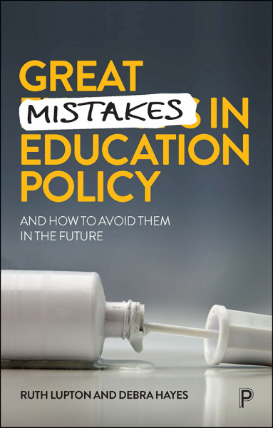 Great Mistakes in Education Policy cover