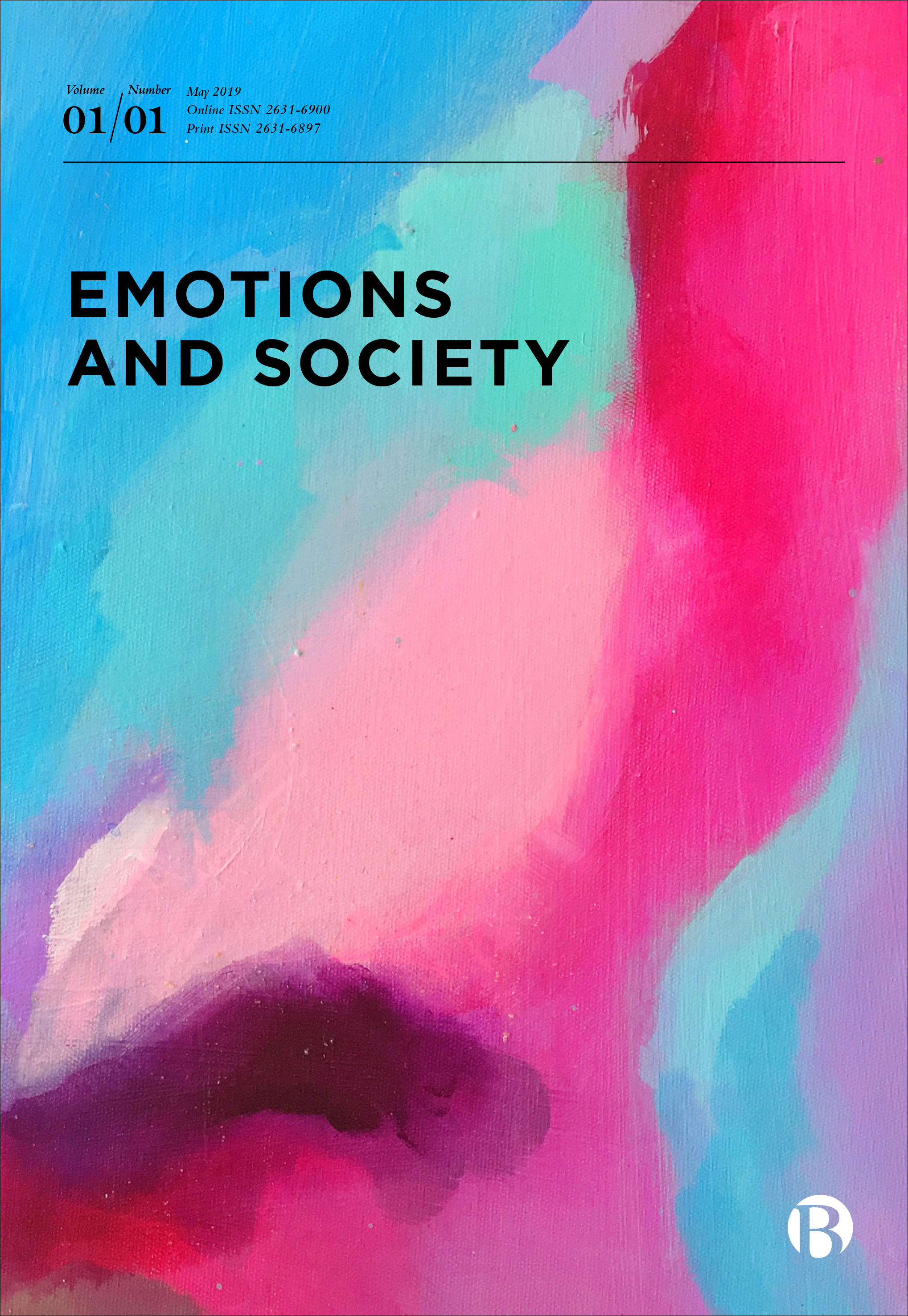 Emotions and Society cover
