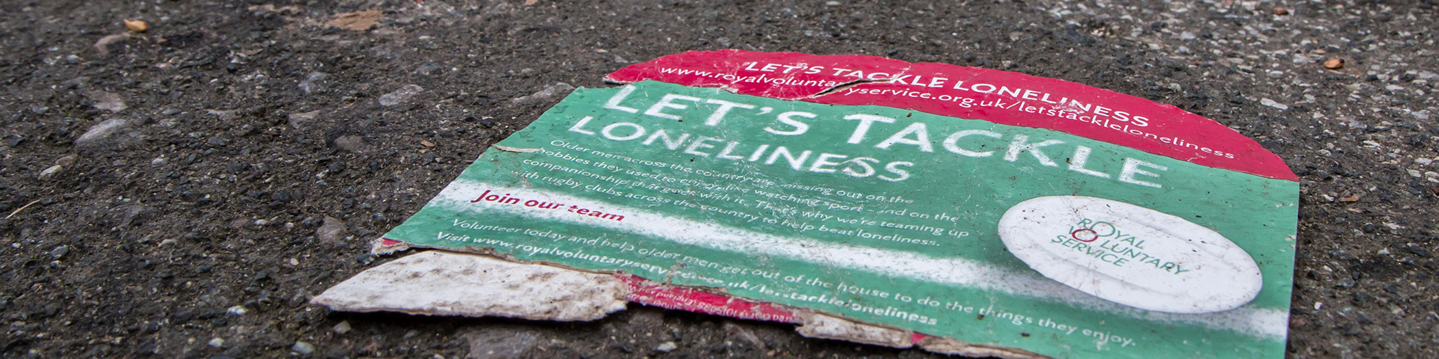 Loneliness Flyer banner