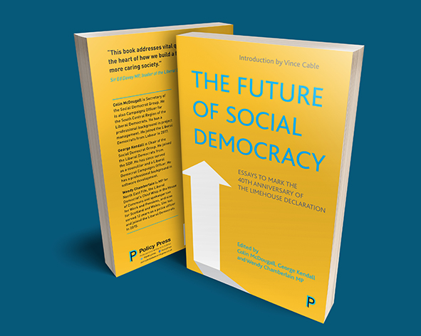 The Future of Social Democracy mock-up