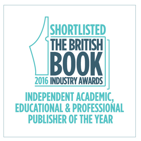 Shortlisted for the Bookseller Academic, Educational & Professional Publisher of the Year
